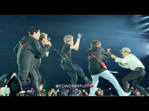190518 - So What - BTS 방탄소년단 - Speak Yourself Tour - Metlife Day 1 - HD FANCAM