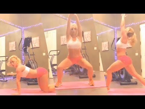 Britney Spears stuns her fans with insane yoga poses, watch