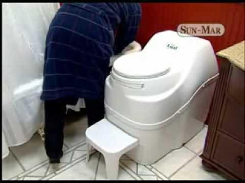 Sun Mar Composting Toilets No Water No Plumbing