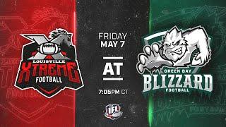 Louisville Xtreme @ Green Bay Blizzard