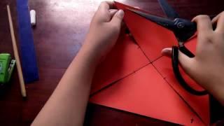 Cách làm chong chóng đơn giản bằng giấy