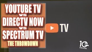 YouTube TV vs DirecTV NOW vs Spectrum Cable TV Throwdown
