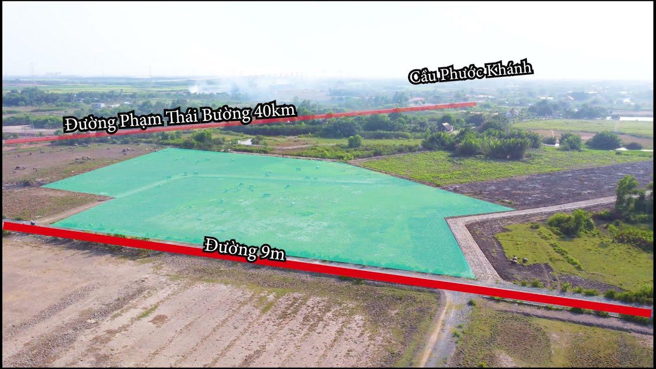 Cơ hội mua đất đẹp giá rẻ, đầu tư trung hạn, 1 sẹc Phạm Thái Bường, xã Phước Khánh video