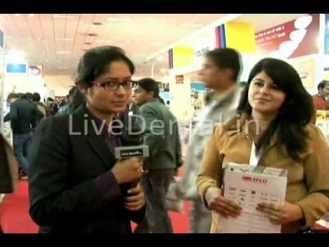 LiveDental.in | Dr Priyanka Suri in Expodent International 2012