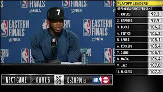 Kyle Lowry Press Conference | Eastern Conference Finals Game 4