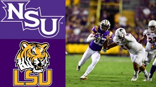 Northwestern State vs #4 LSU Highlights | NCAAF Week 3 | College Football Highlights