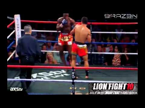 Yodsanklai Fairtex vs Chike Lindsay LionFight 10