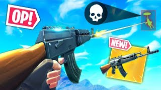 *NEW* AK47 GUN IS OP..!!! (Heavy AR) Fortnite Funny and Best Moments Ep.292 (Fortnite Battle Royale)