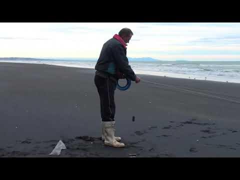 W Fishing Hooks Mokau Beach Fishing Wi...