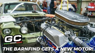 Shelby GT500 Barnfind gets NEW MOTOR!