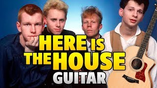 Depeche Mode - Here Is The House (Fingerstyle Guitar Cover With Tabs And Karaoke)