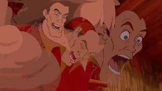 Gaston but every time they say Gaston the frames trail even more