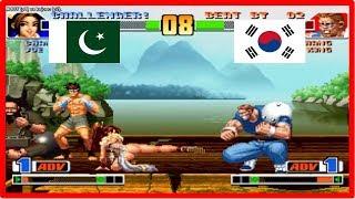 Kof 98 - ADDY (pakistan) vs kojonc (south korea) Random select Fightcade