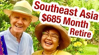EARLY  Retirement Southeast Asia $685 A MONTH Cambodia Khmer, Laos
