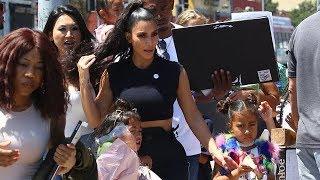 "Kim Kardashian And Kanye West Give Kids' Fashion ""An Unincorporated Life"""