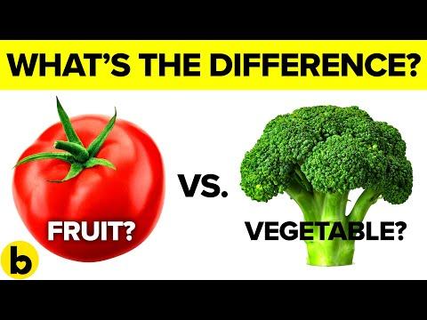 Што е всушност разликата помеѓу овошјето и зеленчукот?