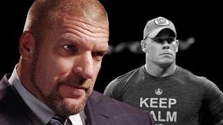 Triple H ponders a future without John Cena