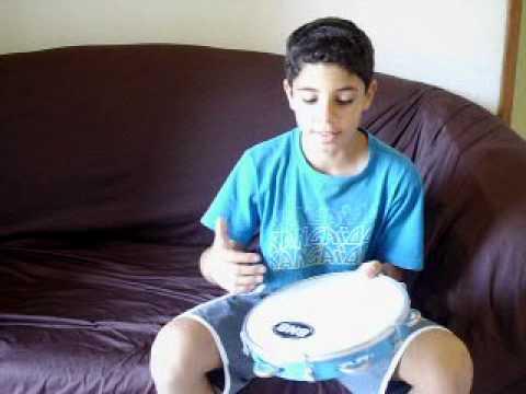Aprendendo tocar pandero-Toque Básico