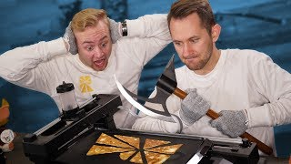 Pancake 3D Printer Destruction! (ENJOY AND DESTROY)