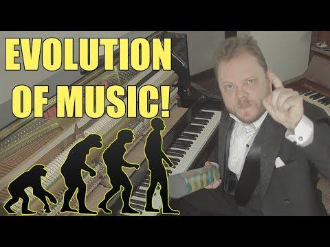 Evolution of Music ( 1680 AD - 2017)