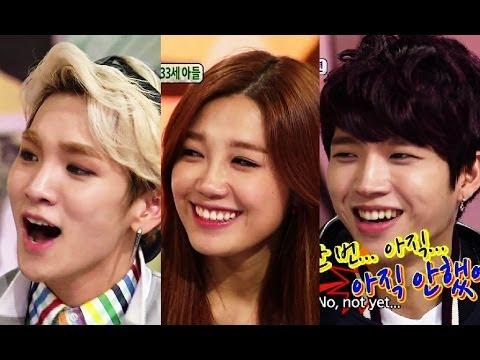 Hello Counselor - Toheart (Key & Woohyun) and APink (Eunji & Namjoo)! (2014.04.14)