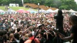 Escape the fate- wall of death (Montreal warped tour 09)