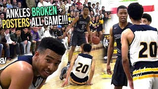 Cassius Stanley Reacts to OVERRATED Chants w/ ANKLE BREAKER & DUNK! CRAZY LIT FINISH IN PLAYOFFS!