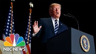 President Donald Trump Delivers Remarks On Opioid Crisis In New Hampshire | NBC News