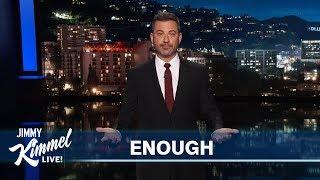 Jimmy Kimmel on Mass Shootings in El Paso & Dayton