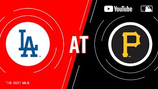 Dodgers at Pirates | MLB Game of the Week Live on YouTube