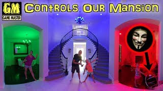 Game Master Controls Our House for 24 Hours With Alexa!!