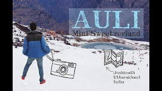 AULI - The Winter Wonderland Of Uttarakhand | Snowfall In Auli