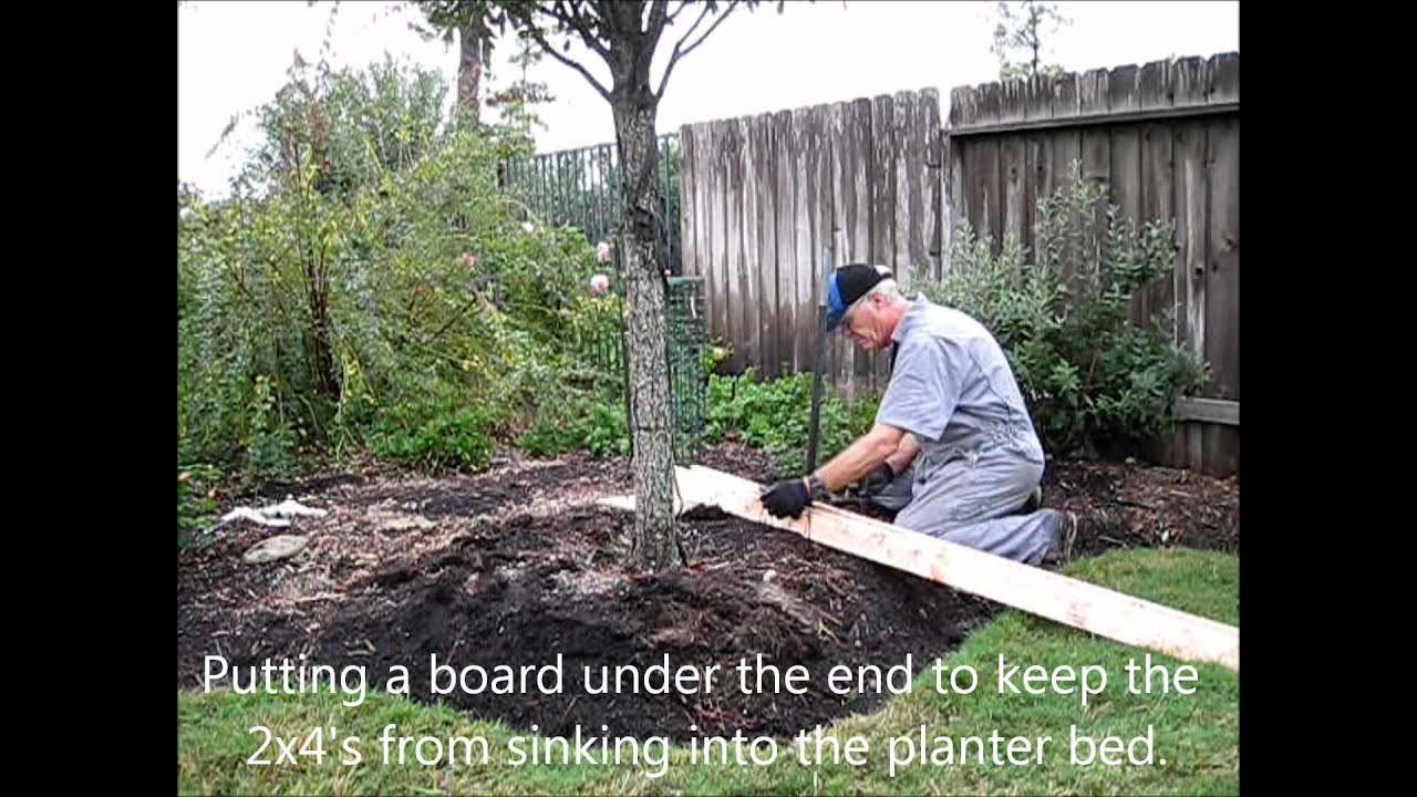How To Remove Metal Fence Posts Or Tree Stakes Youtube