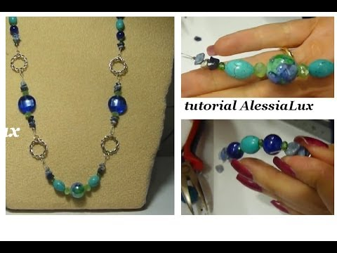 Diy tutorial ciondolo con perle e perline 1 come fare gioielli fai.