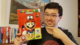Super Mario Cereal Amiibo Unboxing ¿Qué desbloquea en Super Mario Odyssey?