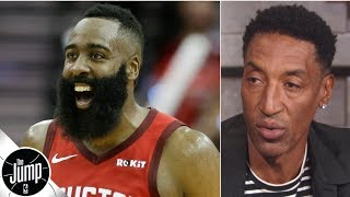 Scottie Pippen would draft James Harden over Kawhi, Giannis if he had to win a game | The Jump