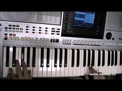 Аслан и Марина - Где ты игра на синтезаторе