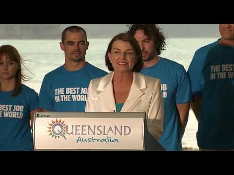 Tourism Queensland's Best Job in the World wrap video