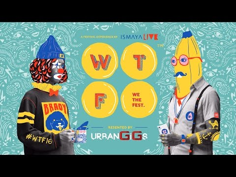 WE THE FEST 2016 - #WTF16 PHASE 1 LINEUP VIDEO MIX
