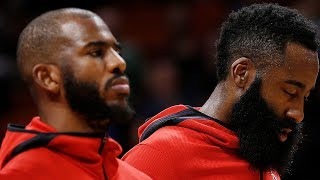James Harden & Chris Paul Allegedly CANNOT Stand One Another!