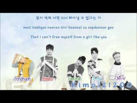 SHINee - Ring Ding Dong [Hangul/Romanization/English] Color & Picture Coded HD