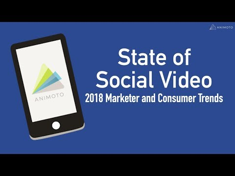 In 2018, social media is video first, everything else second. We investigated to see how a video-first world is affecting consumers and marketers as they navigate the social media landscape.