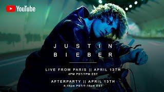 Justin Bieber - Live from Paris (Livestream)