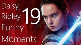 Daisy Ridley Funny Moments 19