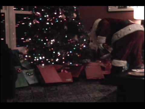 Real Santa Caught on Tape