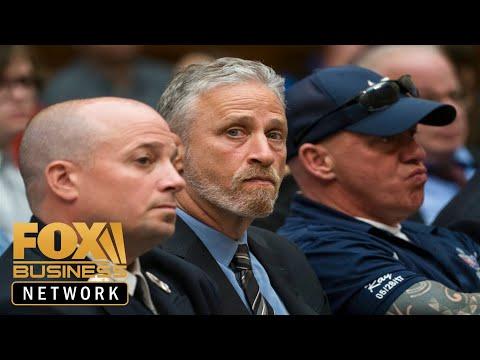 Jon Stewart slams Congress members for skipping 9/11 fund hearing