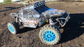 RC ADVENTURES - Mixed-class Large Scale Trucks Offroad, Open Track Practice 4x4 and 2WD