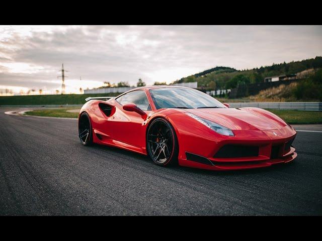 772匹的寬體紅馬上路! N-Largo Ferrari 488 GTB