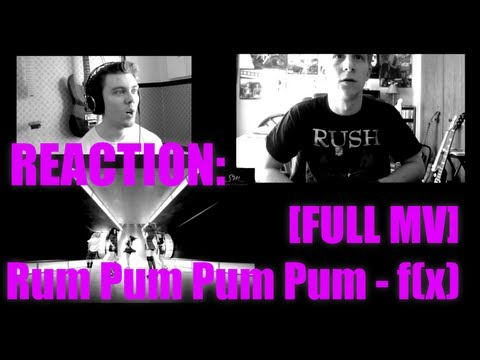 Rum Pum Pum Pum - f(x) Reaction / Review - MRJKPOP ( 에프엑스 첫 사랑니 )
