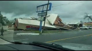 Video of storm damage in Panama City